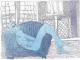 Nude Sofa - blue